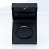 black and rose gold bracelet - gents bracelet - rubber bracelet for men